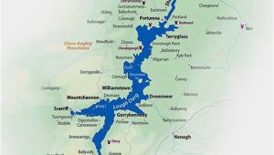 Map Of River Shannon Ireland Hire A Cruiser On Lough Derg Explore the Shannon In Autumn
