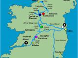 Map Of River Shannon Ireland Virtual Vacation 8 Ireland Boardgamegeek