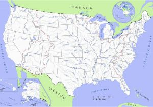 Map Of Rivers In Canada United States Rivers and Lakes Map Mapsof Net Camp