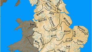 Map Of Rivers In England Longest Rivers Of the United Kingdom Revolvy