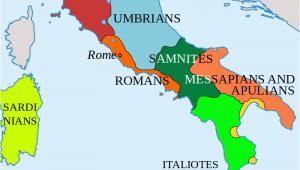 Map Of Roman Italy Italy In 400 Bc Roman Maps Italy History Roman Empire Italy Map