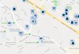 Map Of Roseville California 800 Gibson Drive Roseville Ca Walk Score
