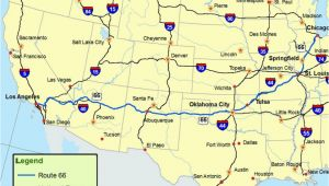Map Of Route 66 From Chicago to California Maps Of Route 66 Plan Your Road Trip