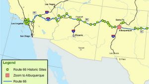 Map Of Route 66 In California Maps Of Route 66 Plan Your Road Trip