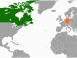 Map Of Russia and Canada Canada Germany Relations Wikipedia