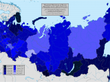 Map Of Russia and Canada Map Of Russian Patriotism by Anatoly Karlin the Unz Review
