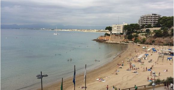 Map Of Salou Spain Beautiful Beaches Around Salou Picture Of Llevant Beach Salou