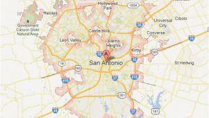 Map Of San Antonio Texas and Surrounding Cities San Antonio Map tour Texas