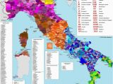 Map Of San Marino Italy Italian Dialects 1792×2048 Click Here for More Maps thelandofmaps