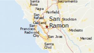 Map Of San Ramon California San Ramon Ca Map Maps Directions