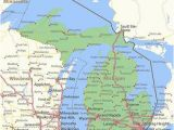 Map Of Sault Ste Marie Michigan Michigan Map Stock Photos and Images 123rf