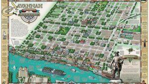 Map Of Savannah Georgia Historic District Karpovage Creative Michael Karpovage Savannahmap Things that