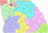 Map Of School Districts In Georgia Map Georgia S Congressional Districts
