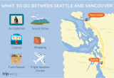 Map Of Seattle Washington to Vancouver Canada Fun Things to Do Between Seattle and Vancouver Bc