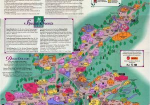 Map Of Sevierville Tennessee Dollywood 1994 theme Park Maps theme Park Map Park Map