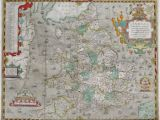Map Of Shires Of England atlas Of the Counties Of England and Wales Sponsored by T