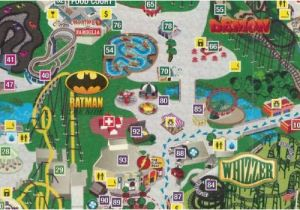 Map Of 6 Flags Great America.Map Of Six Flags Over Georgia Park Map Six Flags Great America