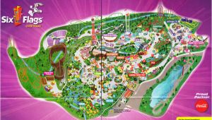 Map Of Six Flags Over Texas Six Flags Over Texas Arlington Map Business Ideas 2013