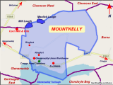 Map Of Sligo Ireland Mountkelly