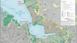 Map Of south Bay California south Bay Restoration Maps