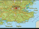 Map Of south England with towns Map Of south East England Map Uk atlas