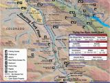 Map Of south fork Colorado Roaring fork River Fishing Map Roaring fork River Fly Fishing Map