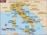 Map Of south Italy and Sicily Map Of Italy