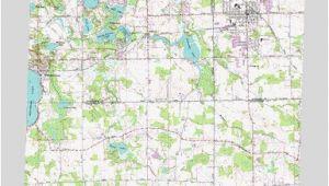 Map Of south Lyon Michigan south Lyon Mi topographic Map topoquest