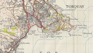 Map Of south West England torquay Geological Field Guide by Ian West