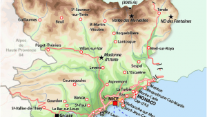 Map Of southeastern France southern France Map France France Map France Travel