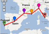 Map Of souther Europe Possible southern Europe Trip 2 Weeks Lisbon Madrid