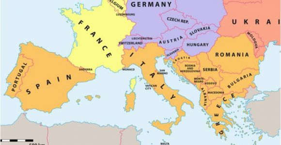 Map Of souther Europe which Countries Make Up southern Europe Worldatlas Com