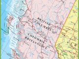 Map Of southern Alberta Canada Large Detailed Map Of British Columbia with Cities and towns