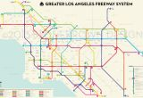 Map Of southern California Freeway System Los Angeles County California United States Stock Vector 2018 New Of