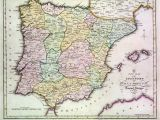 Map Of southern France and northern Spain Map Of Spain Stock Photos Map Of Spain Stock Images Alamy