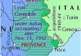 Map Of southern France Italian Occupation Of France Wikipedia