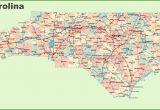 Map Of southern north Carolina Road Map Of north Carolina with Cities