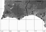Map Of southern Portugal and Spain Sketch Map Od southern Portugal and southwestern Parts Of