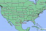 Map Of southern Texas Cities where is San Antonio Tx San Antonio Texas Map Worldatlas Com