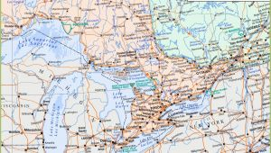 Map Of southwestern Ontario Canada Map Of southern Ontario