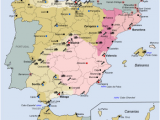 Map Of Spain and Canary islands Spanish Coup Of July 1936 Wikipedia
