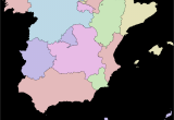 Map Of Spain and France Border Autonomous Communities Of Spain Wikipedia