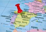 Map Of Spain and France Border Map Of Spain Near Gibraltar Twitterleesclub
