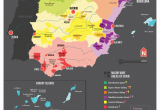 Map Of Spain and Gibraltar Map Of Spanish Wine Regions Via Reddit Spain Map Of Spain