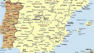 Map Of Spain and Major Cities Mapa Espaa A Fera Alog In 2019 Map Of Spain Map Spain Travel