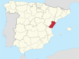 Map Of Spain Beaches Province Of Castella N Wikipedia
