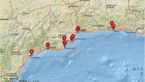 Map Of Spain Costa Del sol where to Stay In the Costa Del sol Best Cities Hotels with