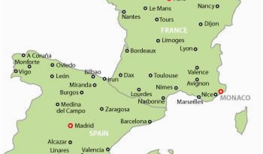 Map Of Spain France And Italy With Cities.Map Of Spain France And Italy Map Of France And Spain Map Of Spain