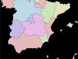 Map Of Spain Showing Almeria Autonomous Communities Of Spain Wikipedia