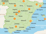 Map Of Spain Showing Regions Map Of Spain Spain Regions Rough Guides